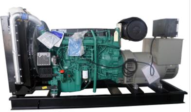 在安装柴油发电机组时采用什么方法?