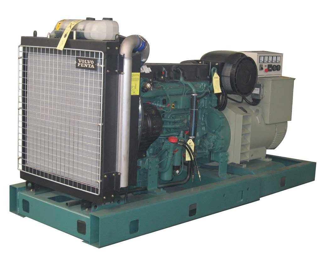 上海120KW沃尔沃柴油发电机组