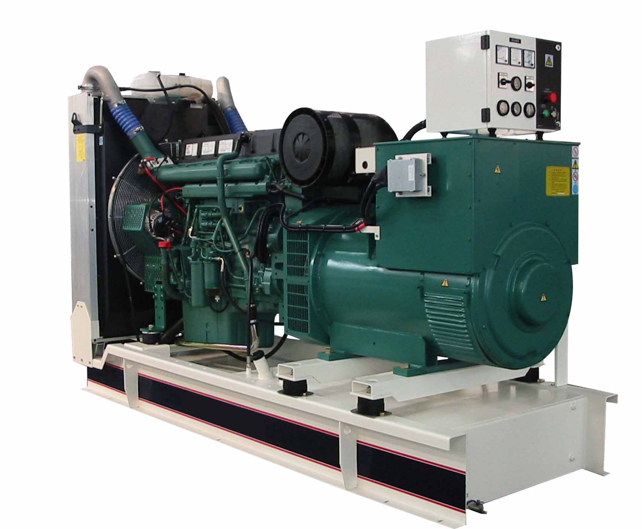 360KW沃尔沃柴油发电机组