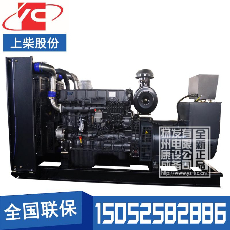 350KW柴油发电机组上柴SC12E500D3