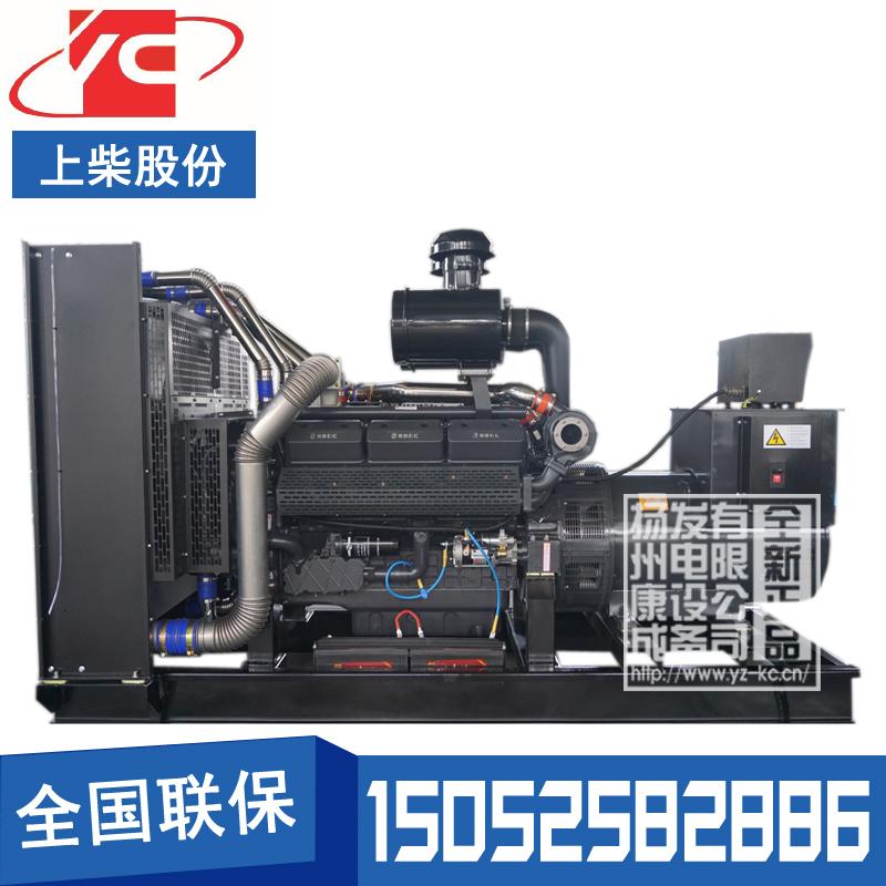 500KW柴油发电机组上柴SC25G690D2