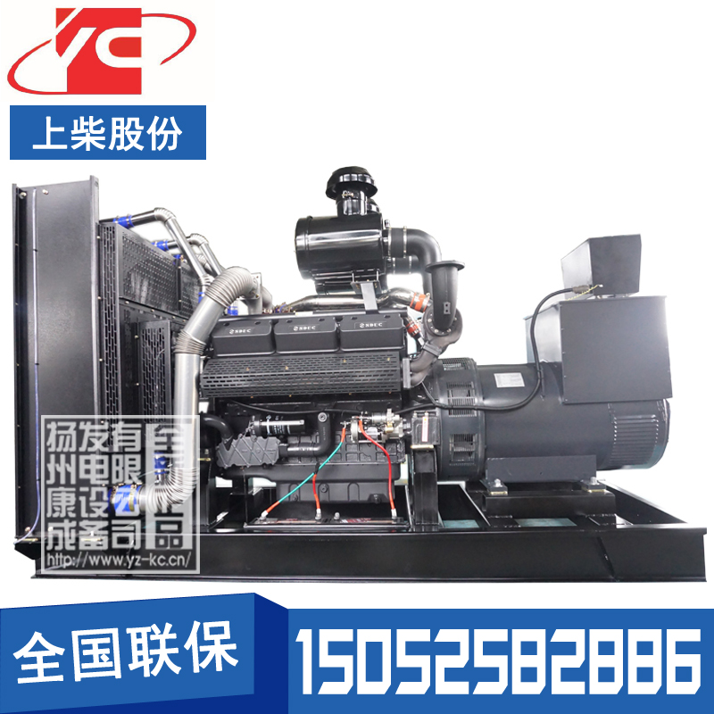 600KW柴油发电机组上柴SC27G830D2