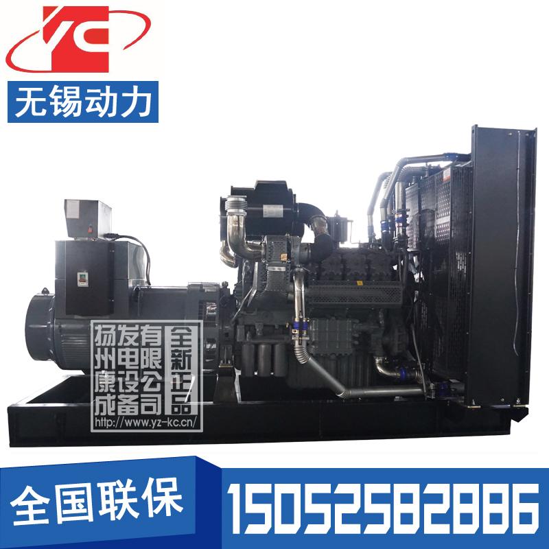 800KW柴油发电机组无锡动力WD327TAD82