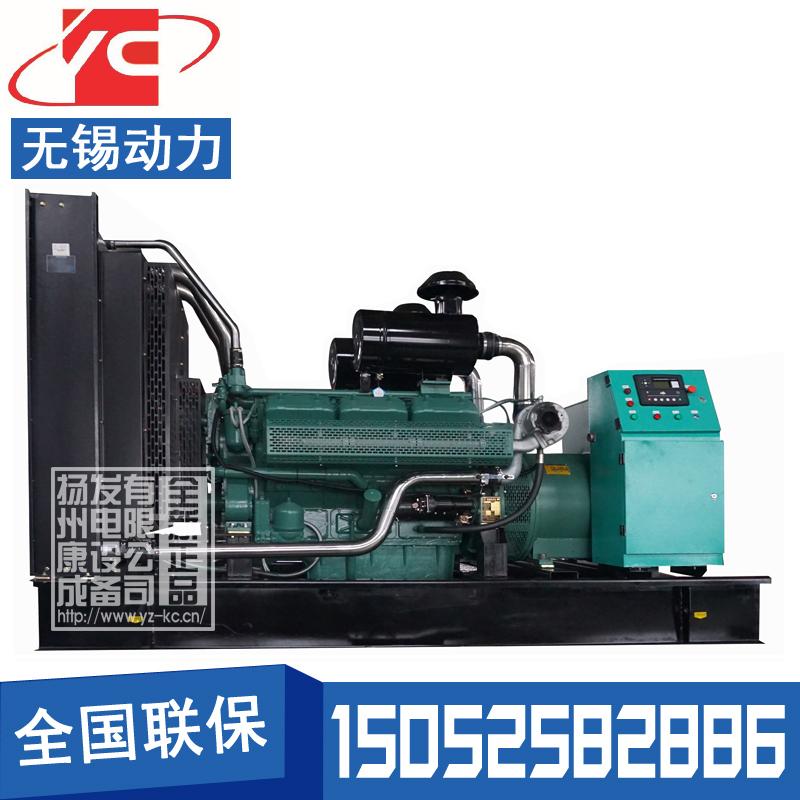 400KW柴油发电机组无锡动力WD269TD38