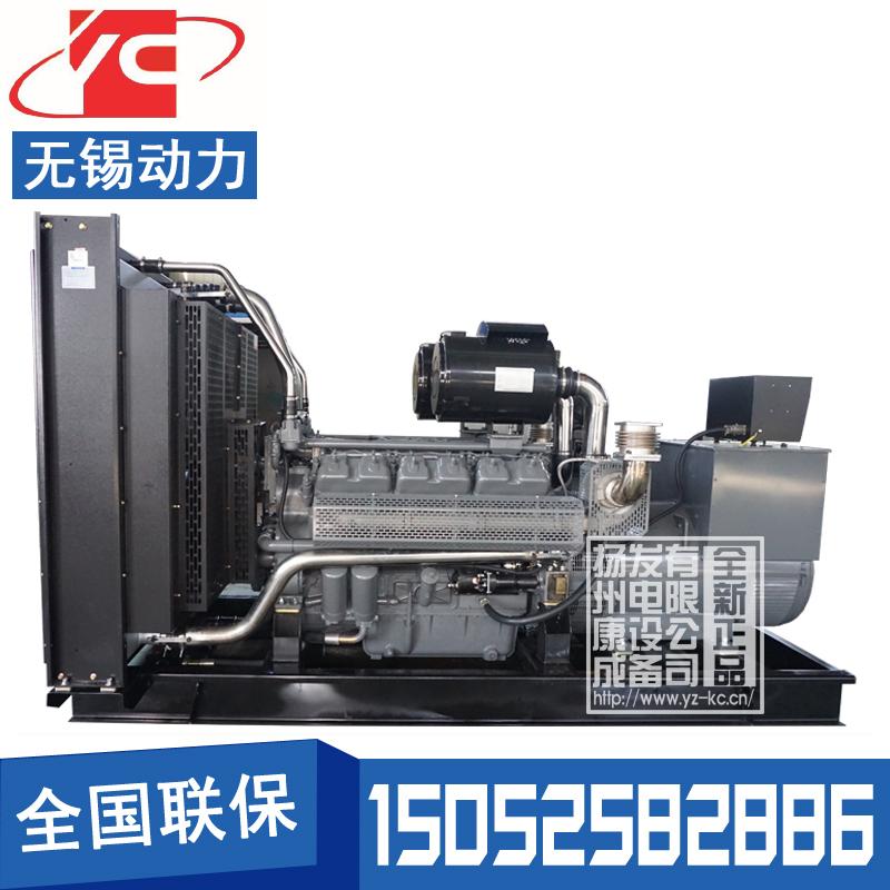 600KW柴油发电机组无锡动力WD269TAD56