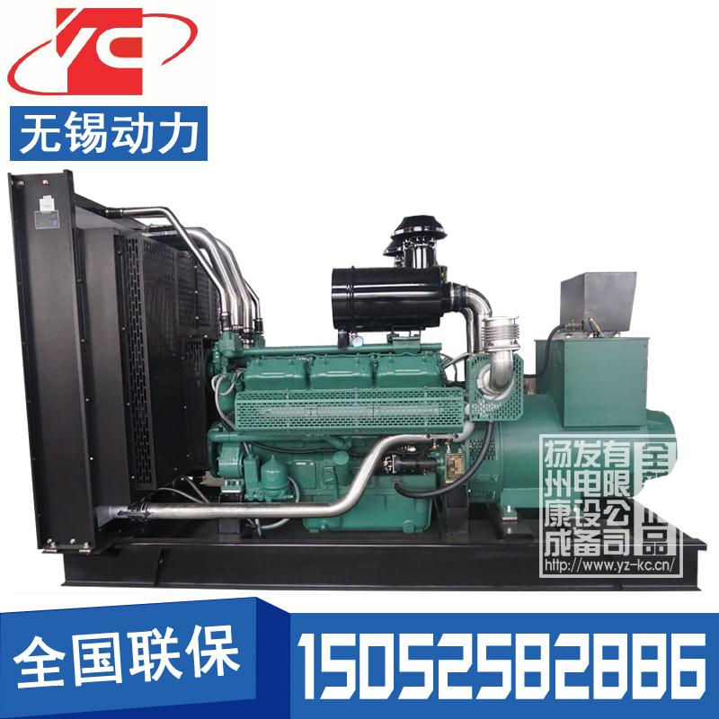 450KW柴油发电机组无锡动力WD269TAD43