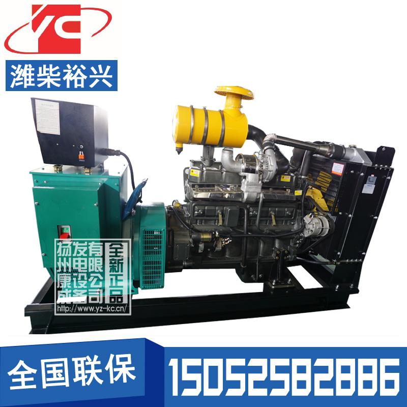 100KW柴油发电机组潍柴裕兴R6105AZLD