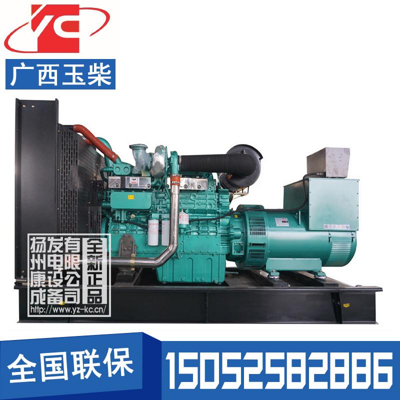 400KW柴油发电机组广西玉柴YC6T600L-D22
