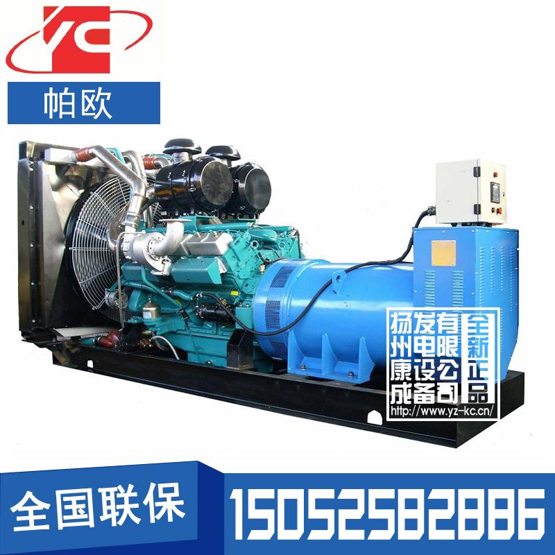 600KW柴油发电机组通柴帕欧TCR550