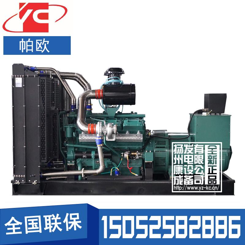 400KW柴油发电机组通柴帕欧TCR400