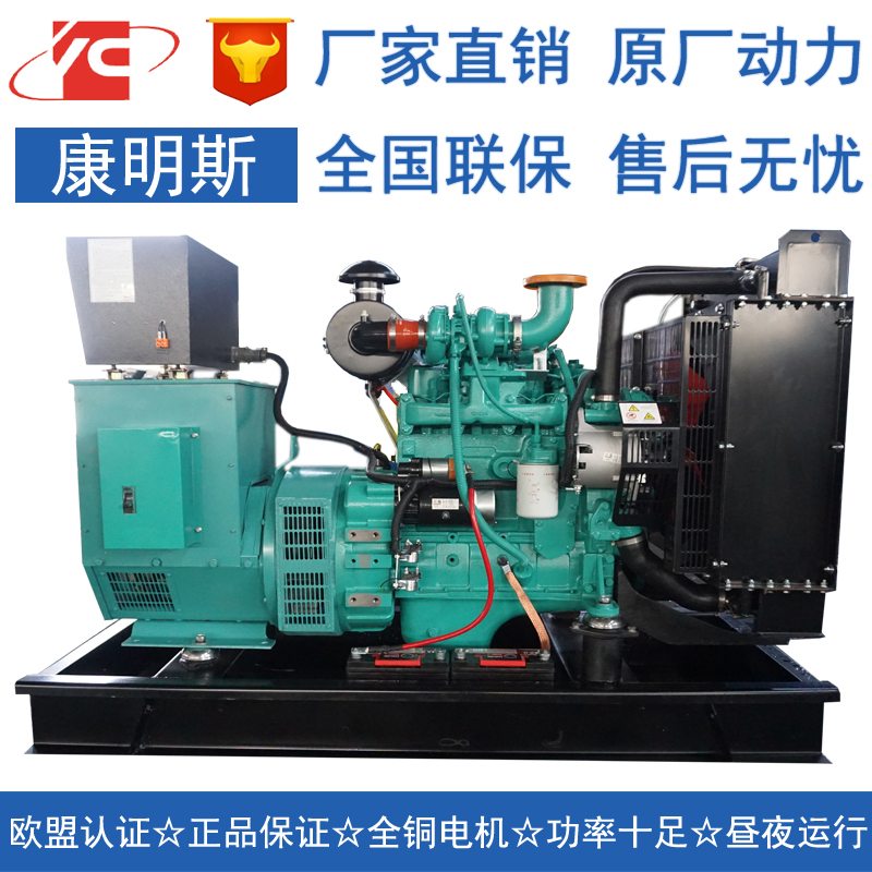 安徽40KW柴油发电机组东风康明斯4BTA3.9-G2