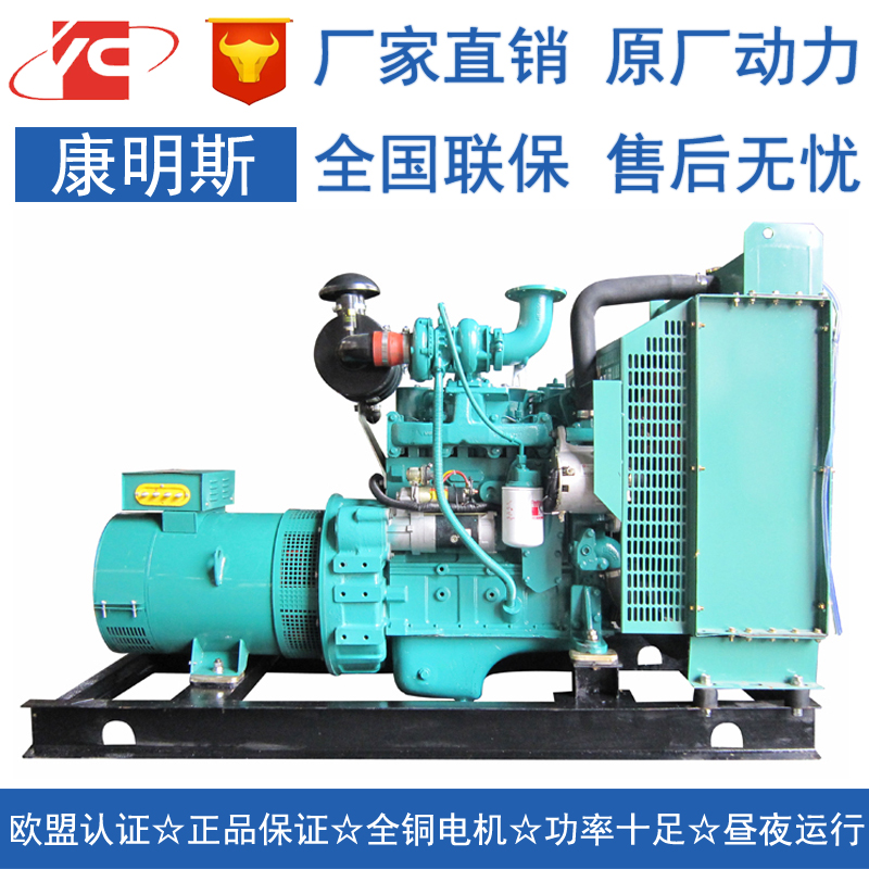 30KW柴油发电机组东风康明斯4BT3.9-G1
